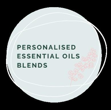 Personalised essential  oils blend