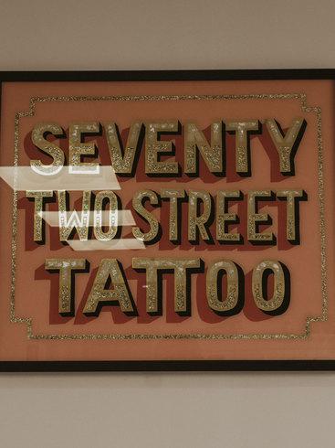 Seventy Two Street Tattoo
