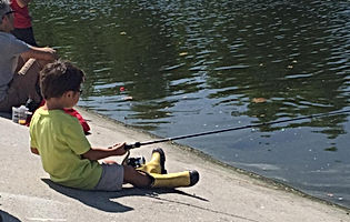 Fishing on the LA River