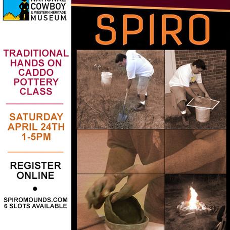 Caddo Pottery Class