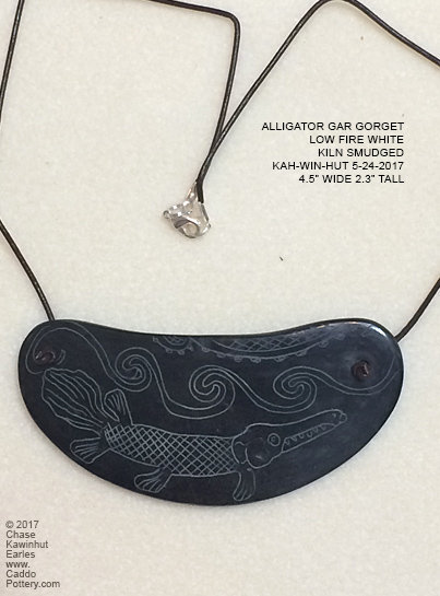 Alligator gar Gorget
