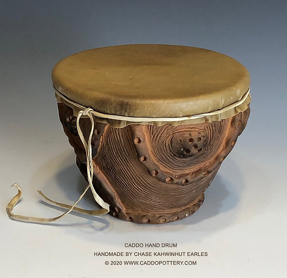 Caddo Hand Drum for Winterville Mounds