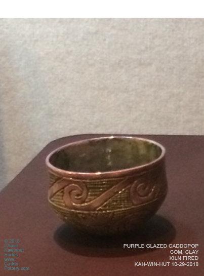 Purple Caddo Bowl