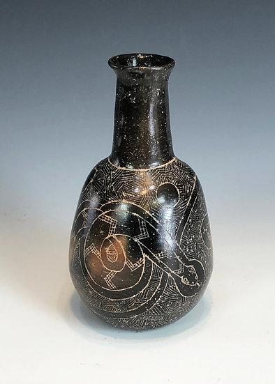 Jar with Snake Design