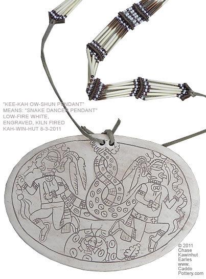 Keekah Oshun Pendant (Snake Dance)