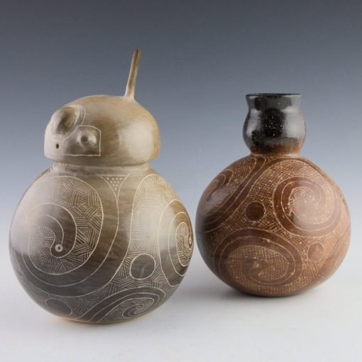 """""""Tay'sha Ku'nay: Gourd Friend"""" and """"Rolling Water/ Cycle of Life"""""""