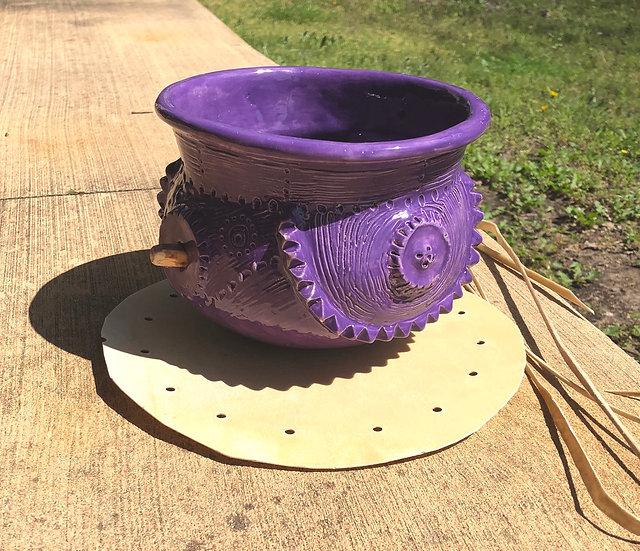 Chad's Purple Glaze Water Drum
