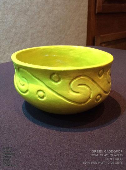 Green Caddo Pop Bowl