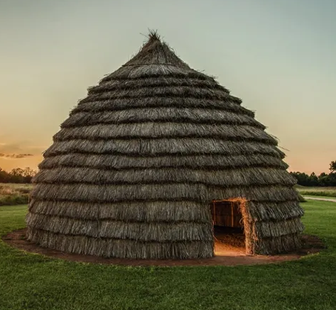 Caddo Grass House