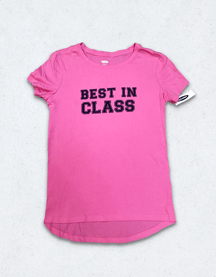 BEST IN Class T-shirts - Pink