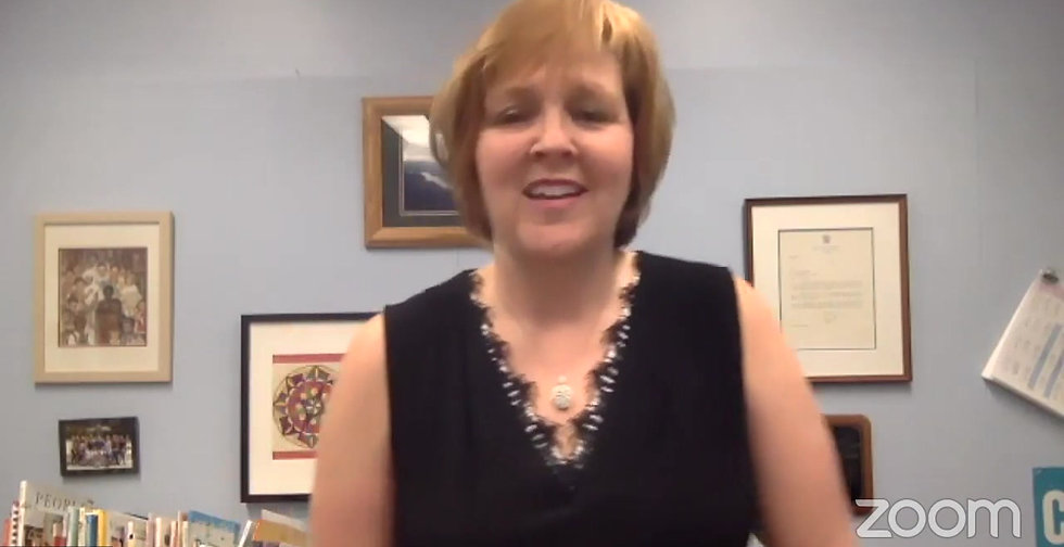 Dr. Jean Schoenlank, Ed.D. - Ridge Elementary School Principal Back to School Night Message