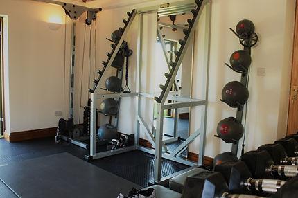 Squat Rack | Medicine Balls | Cable Pulley Machine | Studio