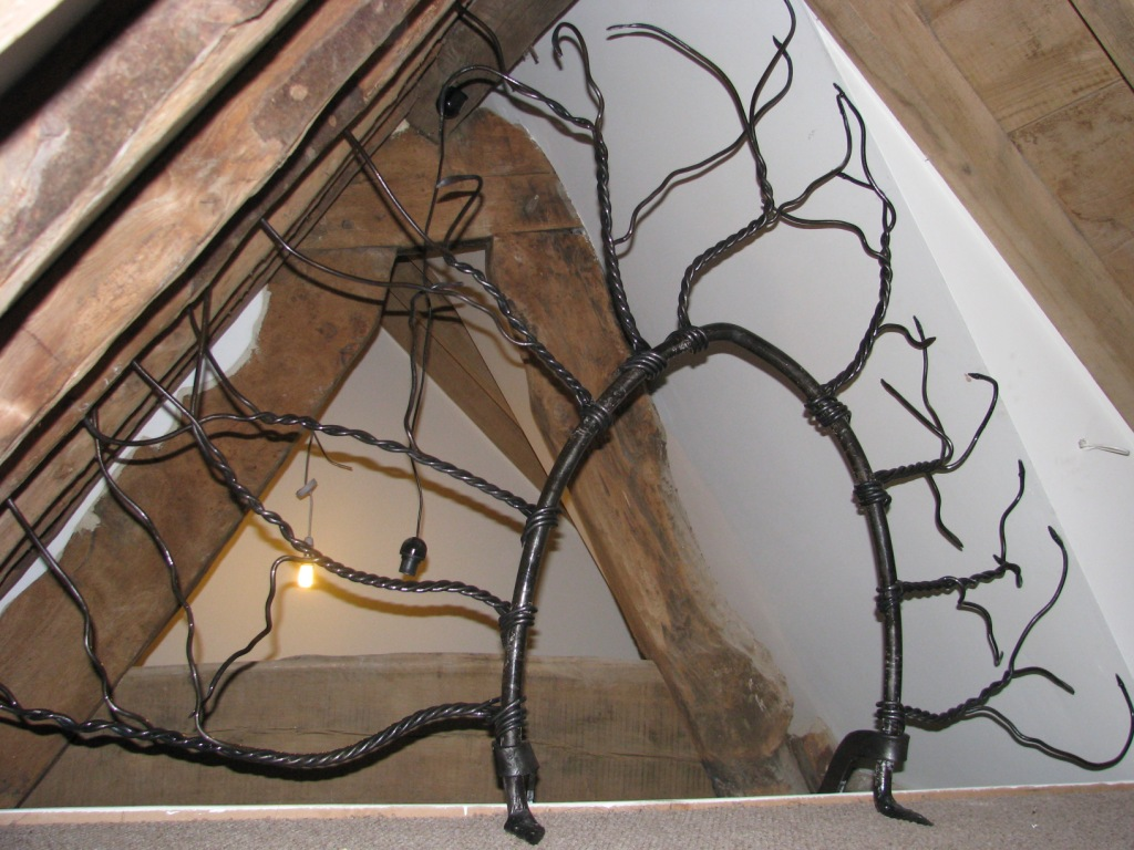 Forged tree screen