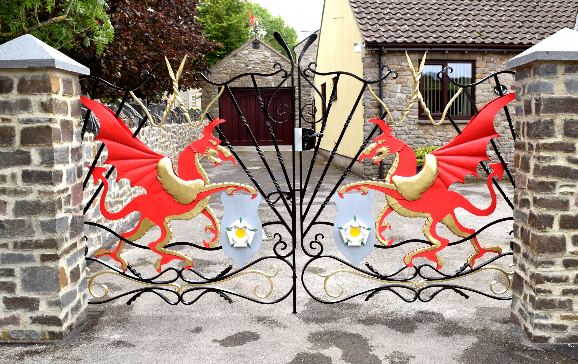 Dragon Gates Front