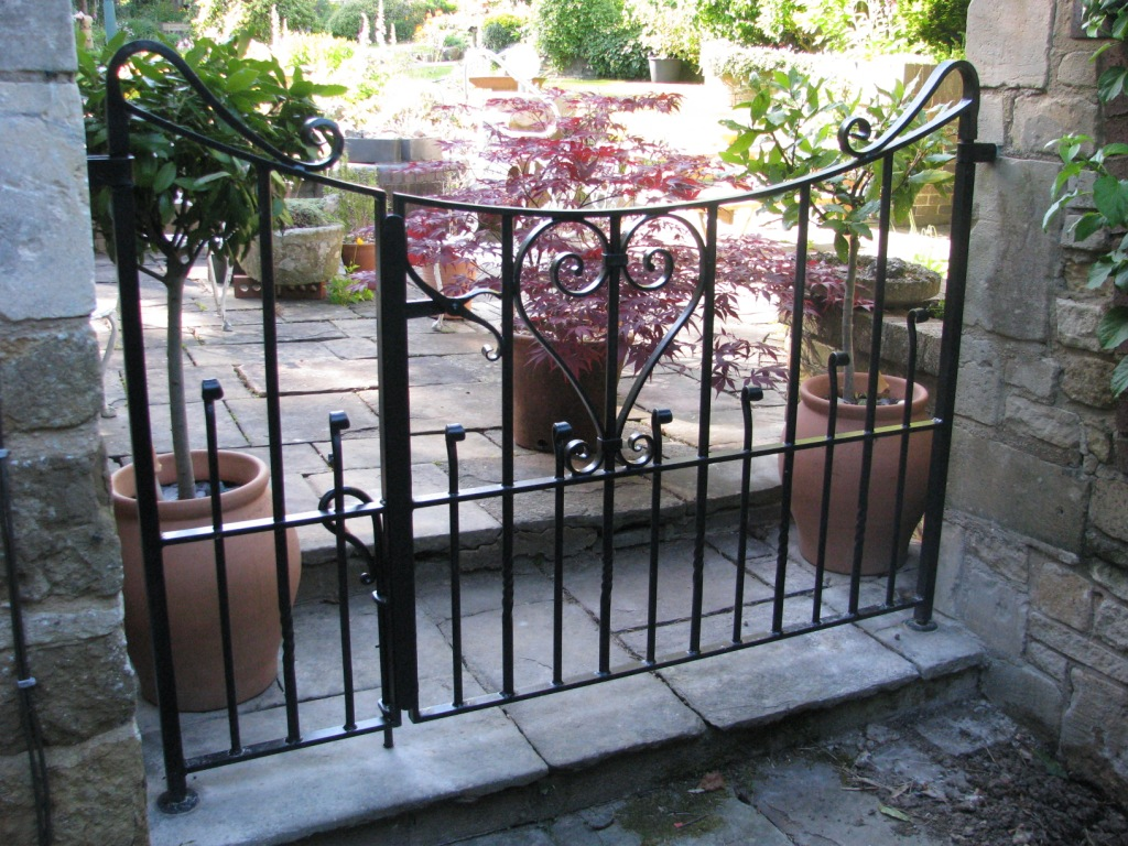 forged blacksmith Garden gate.jpg