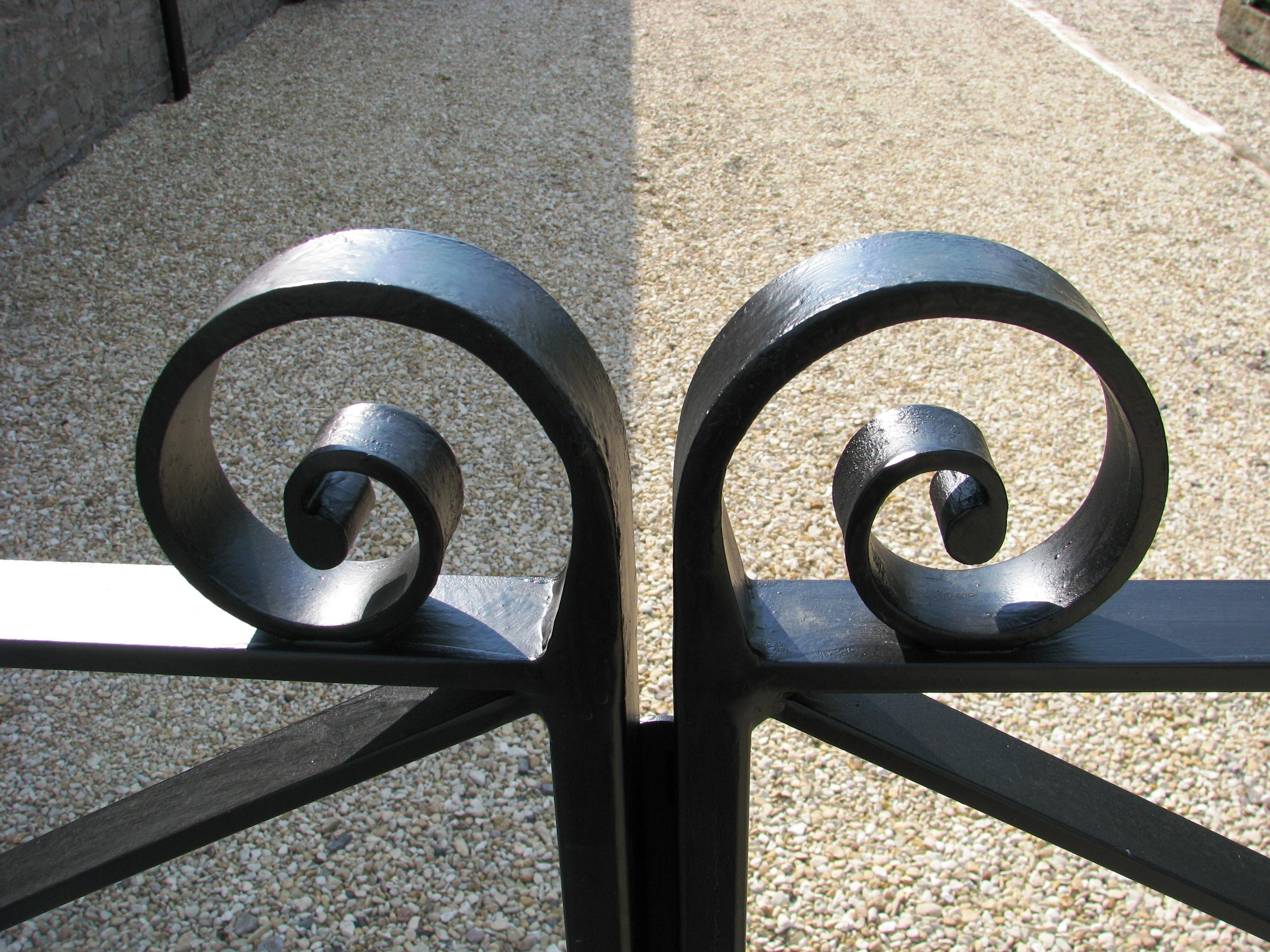 Farm style gate detail