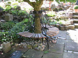 Tree support bench 01