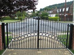 blacksmith forged gates