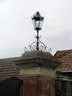 Forged lantern restoration