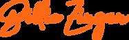 Billie Zinzan orange logo.png