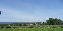 Vue ssur les Monts de Vaucluse