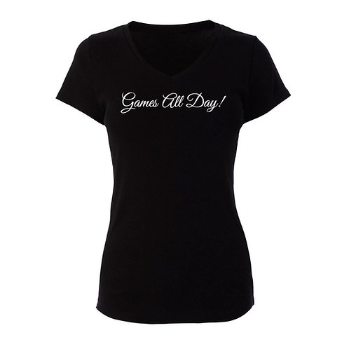 """""""Games All Day"""" T-Shirt"""