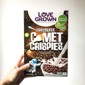 Love Grown Chocolate Comet Crispies