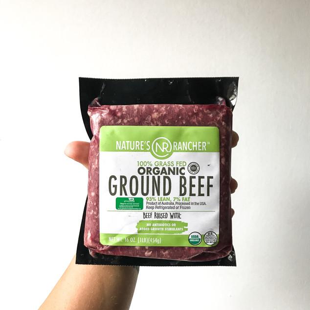 Grass-Fed Ground Beef 93/7