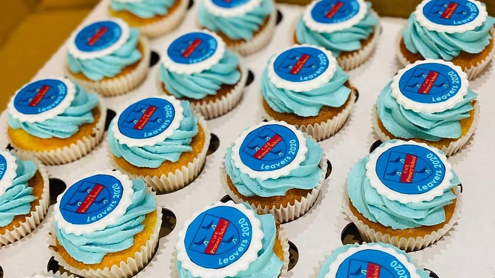 Corporate/Printed Cupcakes
