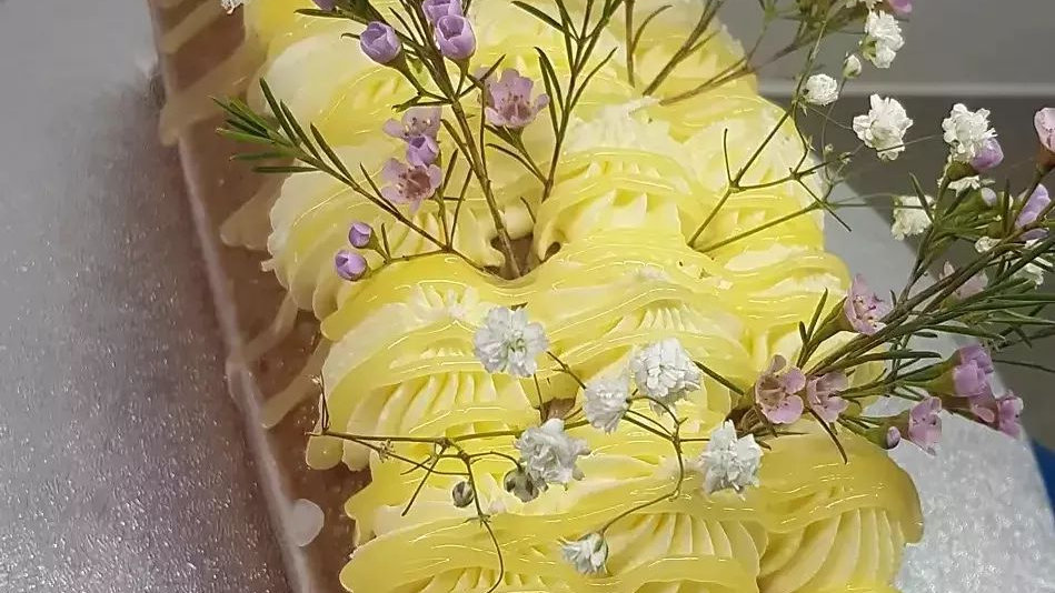 Lovely Lemon Drizzle Loaf Cake