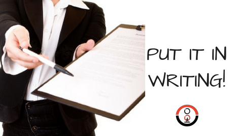 It's Proven. Committing Goals Into Writing Can Improve Your Performance by More Than 100%