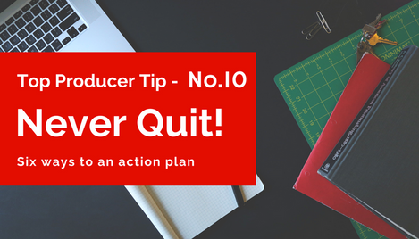 Discover Why (For Top Producers) Quitting Is Not An Option!