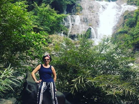 Trek to Hidden Waterfalls from Nature's Nest, Tambdi Surla