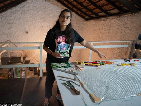 Afrah Shafiq, A Millennial Artist