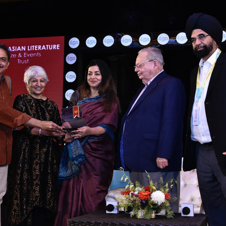 Jayant Kaikini Along With Translator Tejaswini Niranjana Wins The DSC Prize 2018
