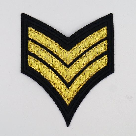 8954 3 Stripe Badge Motif