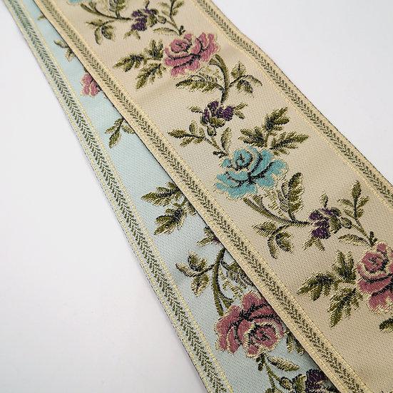 7984 Wide Floral Design Braid