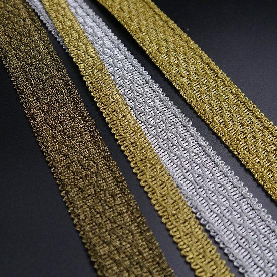 6344 Textured Metallic Braid