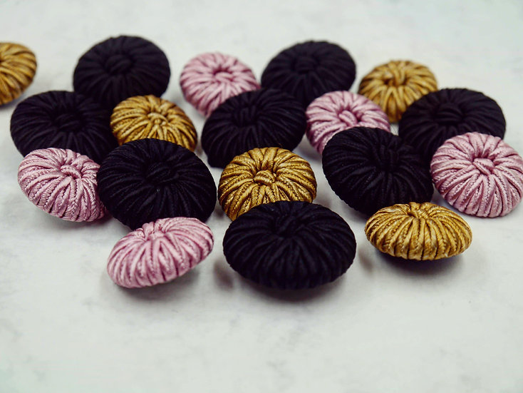 4455 Corded Buttons