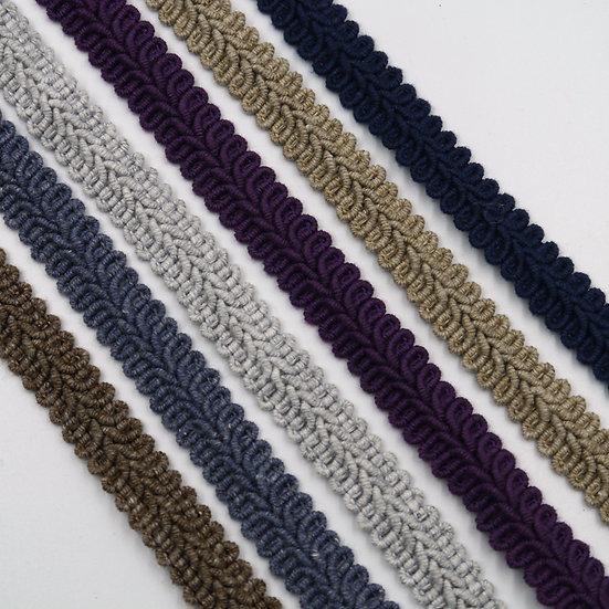 9843 15mm Cotton 'feather' braid