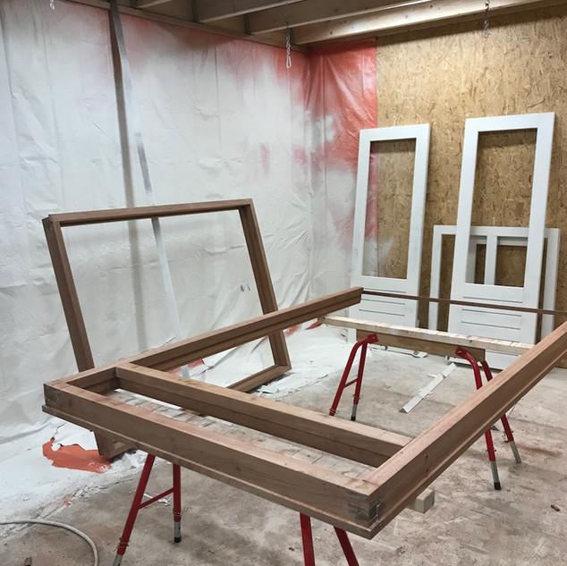 Meranti hout onbehandeld