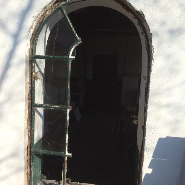 Verwijderen stalen raam
