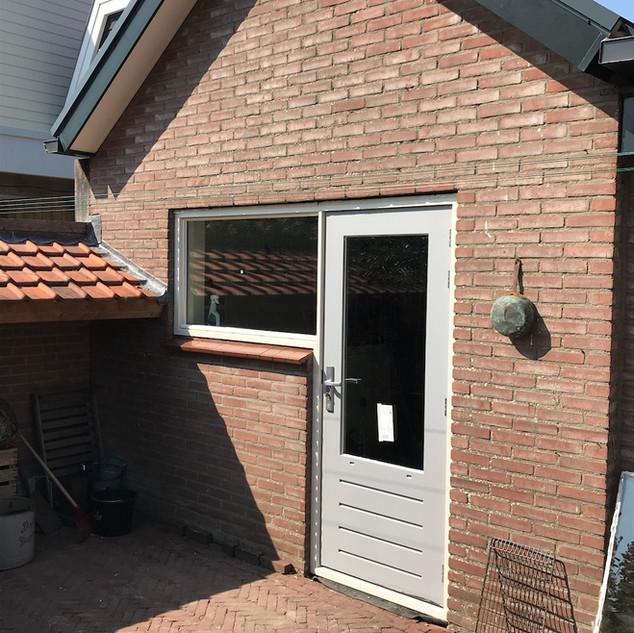 Kozijn en deur