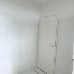 Binnendeur geschilderd