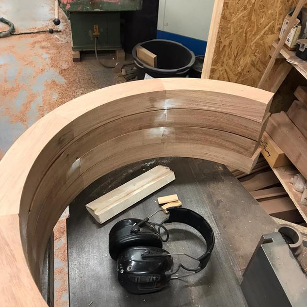 Stalramen van hout