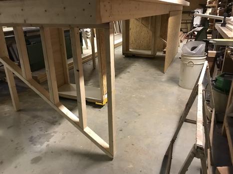 Dakkapel in productie