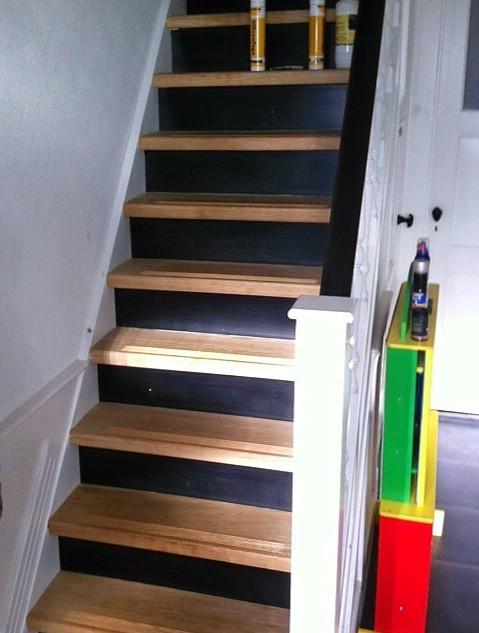 Oude bestaande trap gerenoveerd
