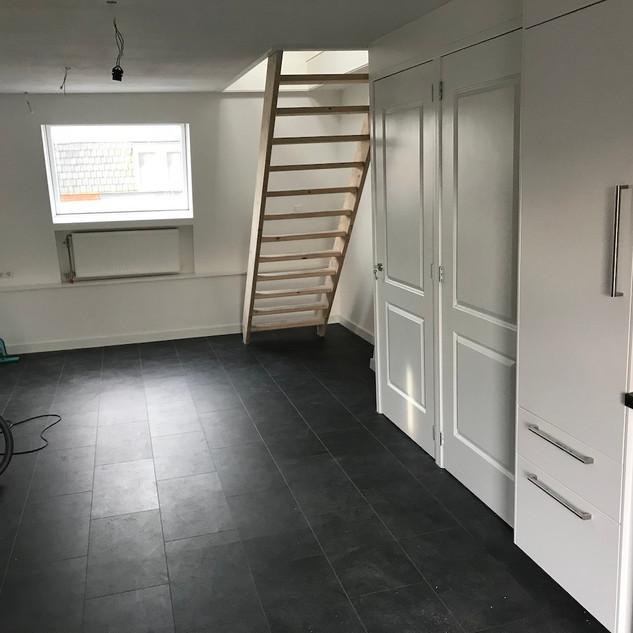 Ruimtelijk met open trap