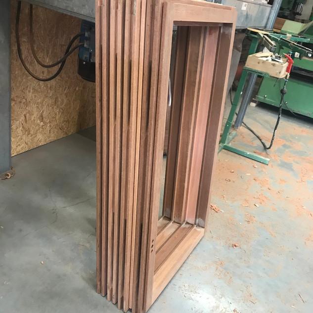 Nieuwe ramen in productie