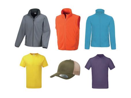 Notre sélection de vêtements à personnaliser pour les artisans